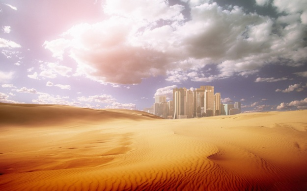 City_in_the_desert_desktop_background